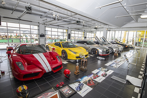 Preston Henn's car collection