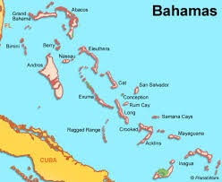 The Bahamas, just east of Fort Lauderdale