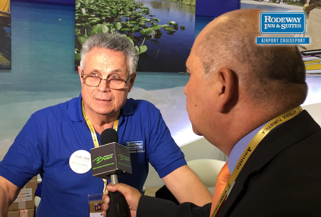 Rodeway Inn and Suites Fort Lauderdale Cruise Port Hotel Visits ANATO Travel Expo in Bogota, Colombia